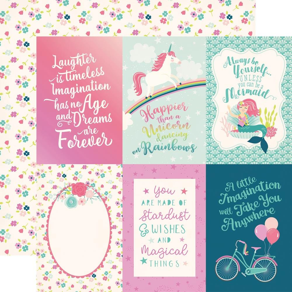 IMAGINE THAT! GIRL - 4x6 Journaling Cards