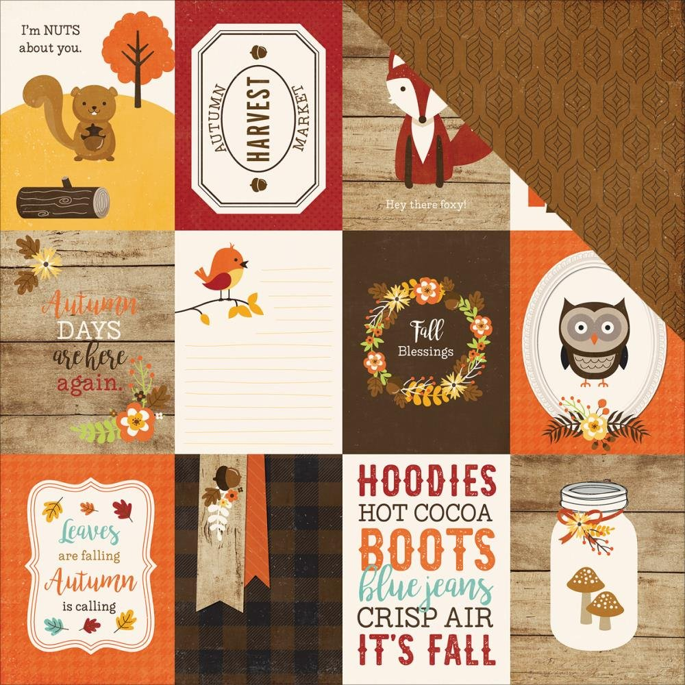 A PERFECT AUTUMN - 3x4 Journaling Cards