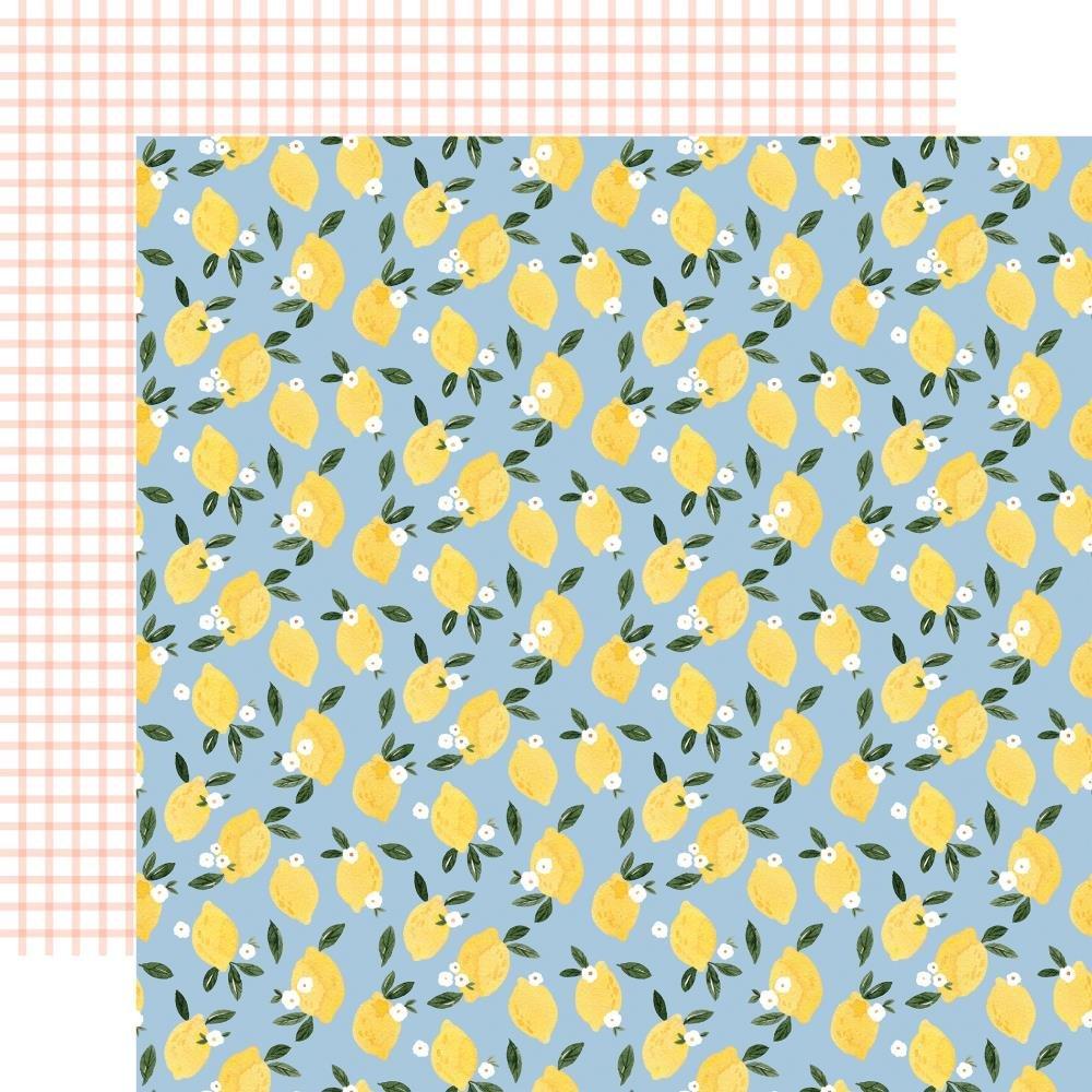Carta Bella Summer Lemonade Squeeze Double Sided 12x12)