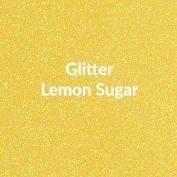 Vinyl - Heat Transfer - Glitter - Lemon Sugar - 12 x 20