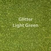 Vinyl - Heat Transfer - Glitter - Light Green - 12 x 20