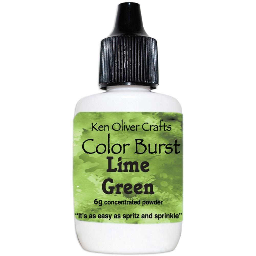 COLOR BURST - Lime Green