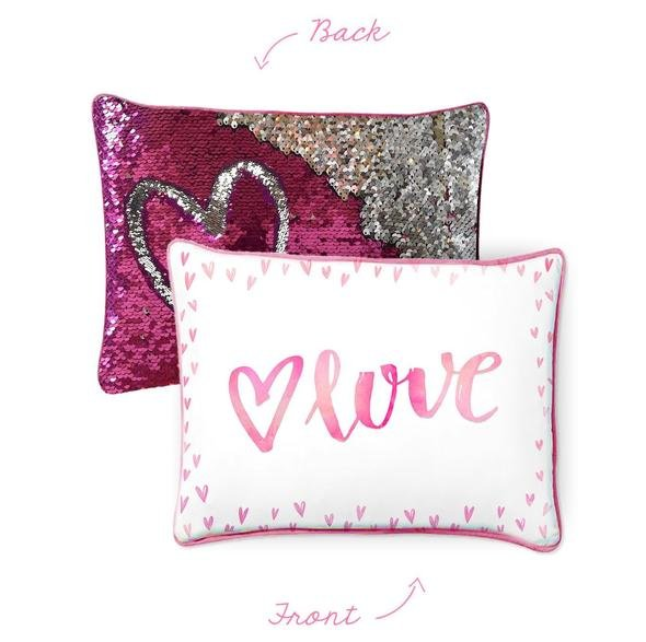 Mermaid Pillow - LOVE