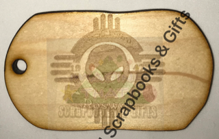 Luggage Tags - Roswell Alien