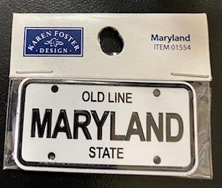 STATE PLATE - MARYLAND