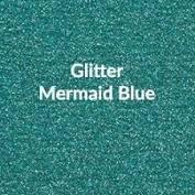 Vinyl - Heat Transfer - Glitter - Mermaid Blue - 12 x 20