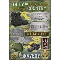 Military Life - Sticker