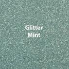 Vinyl - Heat Transfer - Glitter - Mint - 12 x 20