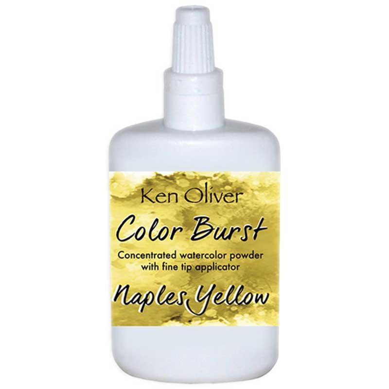 COLOR BURST - Naples Yellow