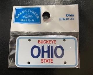 STATE PLATE - OHIO