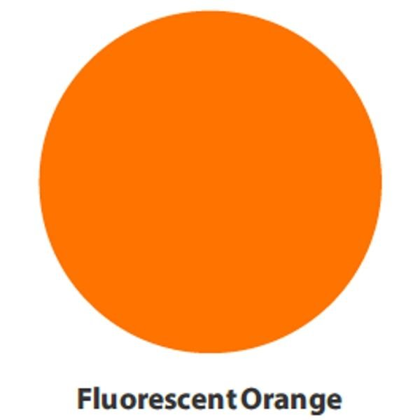VINYL - Heat Transfer - Fluorescent Orange - 12 x 15