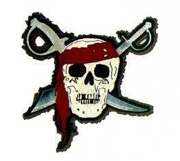 DIE CUT - Pirate w/Silver