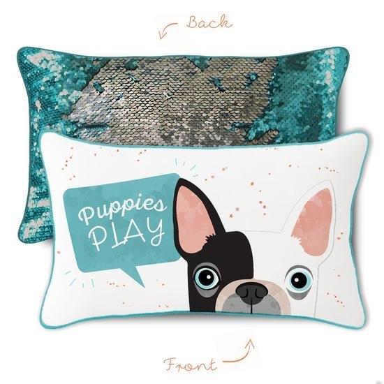 Mermaid Pillow - PUPPIES PLAY