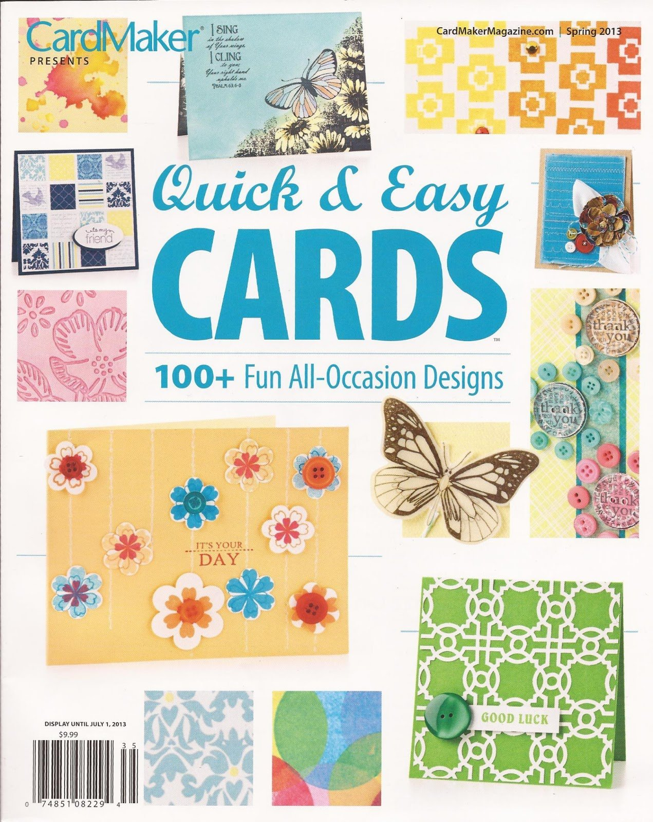Card Maker Magazine - Quick and Easy