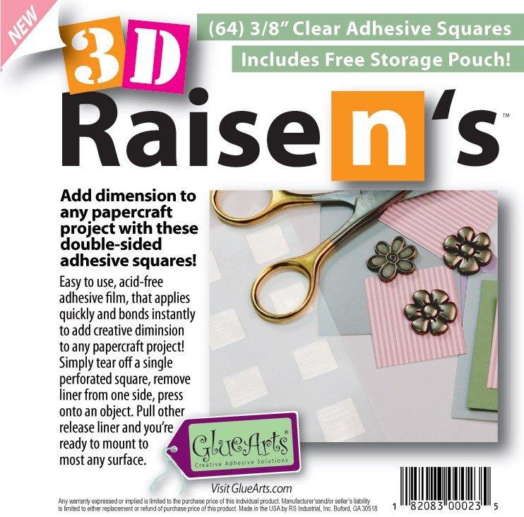 GlueArts - 3D Raise N's