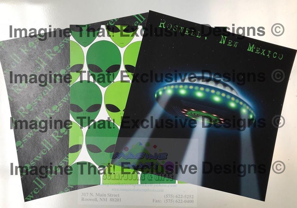 CUSTOM Roswell UFO Kit 1 - 3 pc