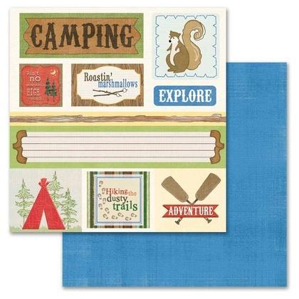 ADORN IT - Camping - Camping Cut Apart