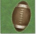 ADORN IT - Football Collection - Jumbo Football