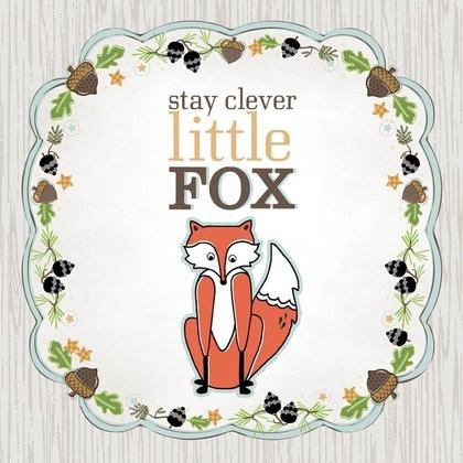 ADORN IT - Art Play Prints - Little Fox