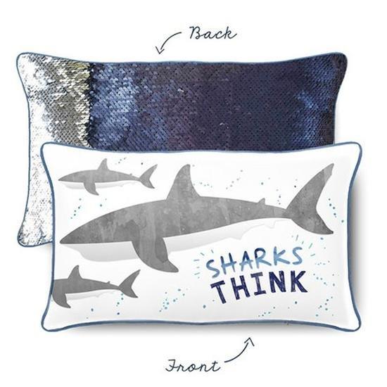 Mermaid Pillow - THINK SHARK