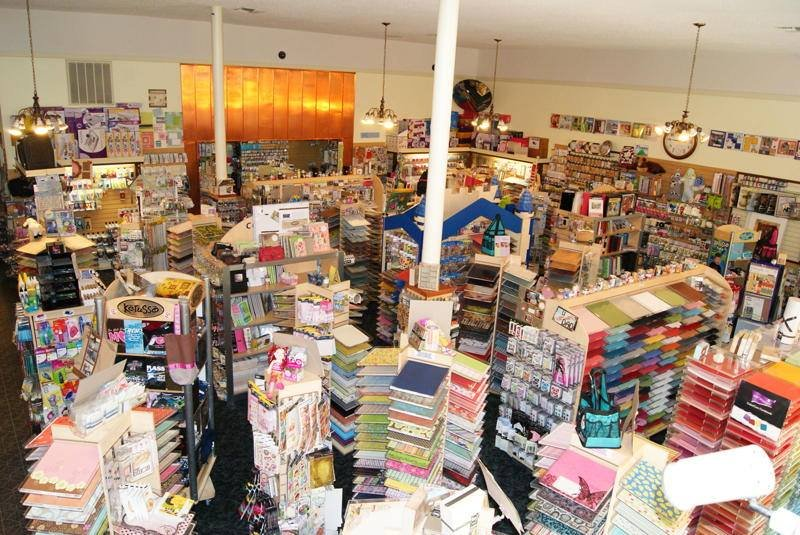 7200 Sq Ft Scrapbooking And Crafting Mega Store