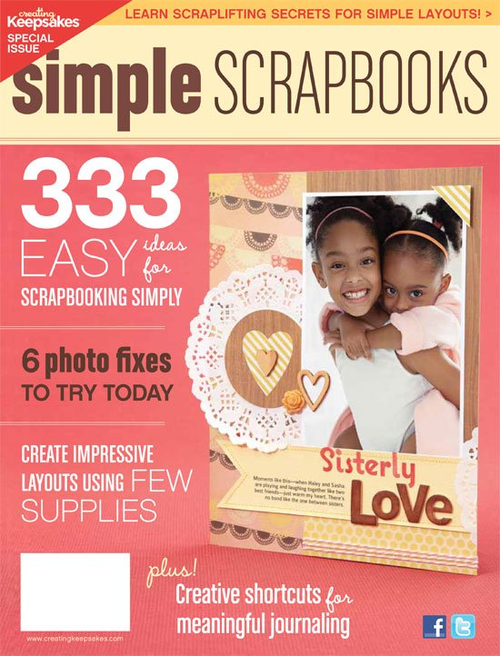 CREATING KEEPSAKES - Simple Scrapbooks