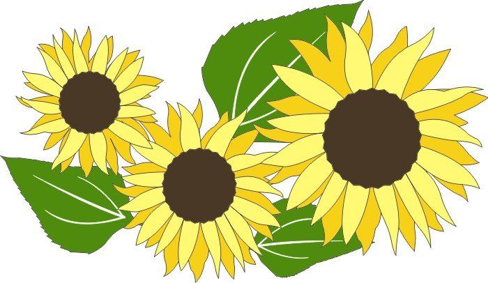 DIE CUT - Sunflowers