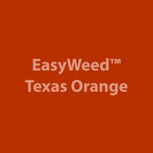 VINYL - Heat Transfer - Texas Orange - 12 x 15