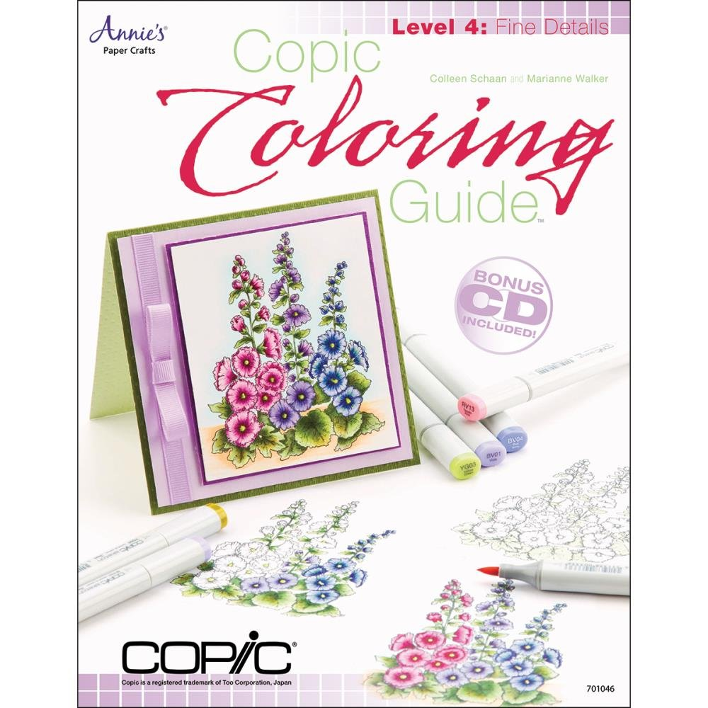 Book - Copic Coloring Guide Level 4