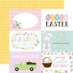 12 x 12 Double Sided Paper - Welcome Easter