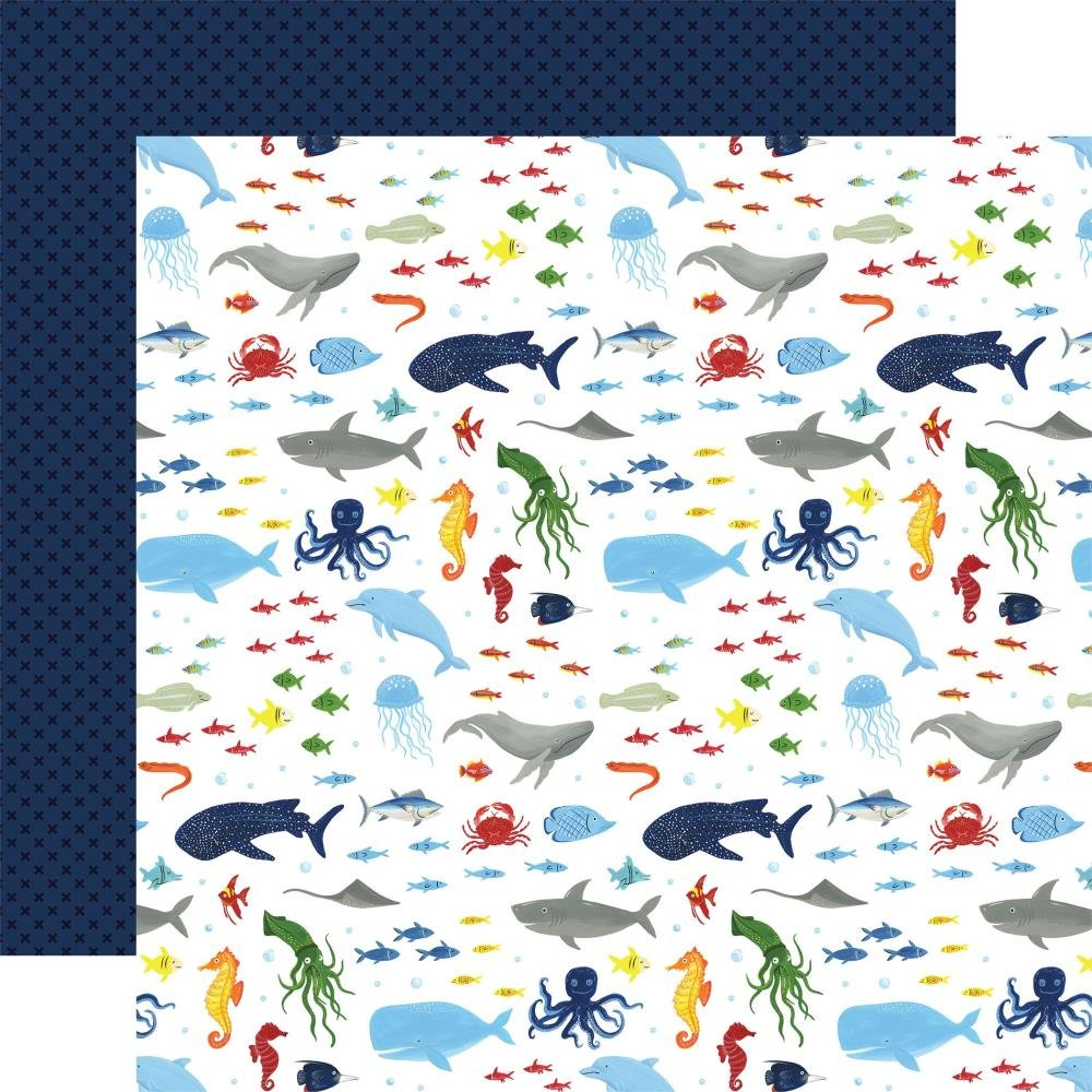 Echo Park Under Sea Adventures  (Double Sided 12x12) Wonders Of The Sea