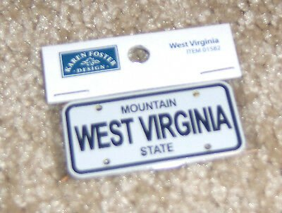 STATE PLATE - WEST VIRGINIA
