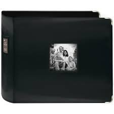 12x12 3-ring binder with frame black