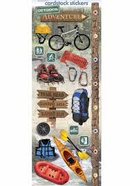 Paper House - Outdoor Adventure Cardstock Stickers