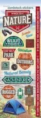 Paper House - Back to Nature Cardstock Stickers