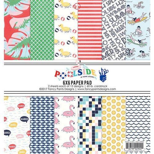 Fancy Pants Poolside 6x6 Paper Pad