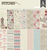 Authentique-Stitches 12x12 Paper Pad