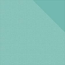 Authentique Light Teal Dots - Micro Basics 12x12