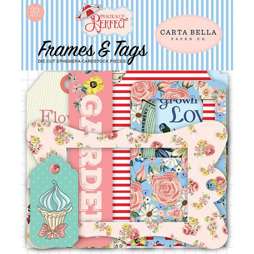 Carta Bella-Practically Perfect Frames and Tags