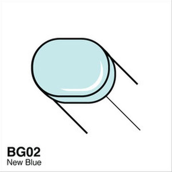 Copic BG02 New Blue Sketch Marker