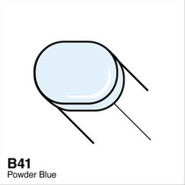 Copic B41 Powder Blue Sketch Marker