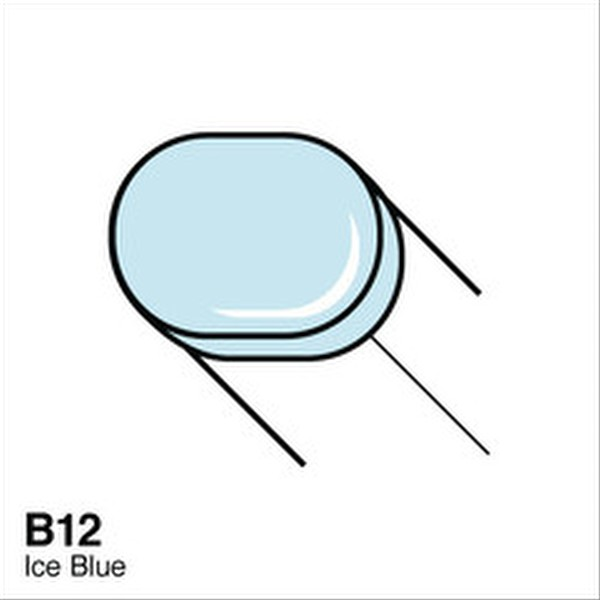 Coper B12 Ice Blue Sketch Marker
