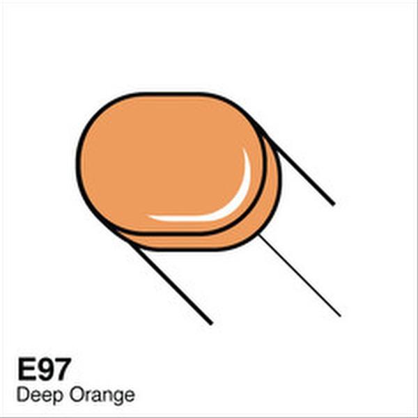 Copic E97 Deep Orange Sketch Marker