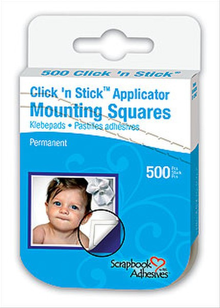Scrapbook Adhesives 500 Mounting Squares