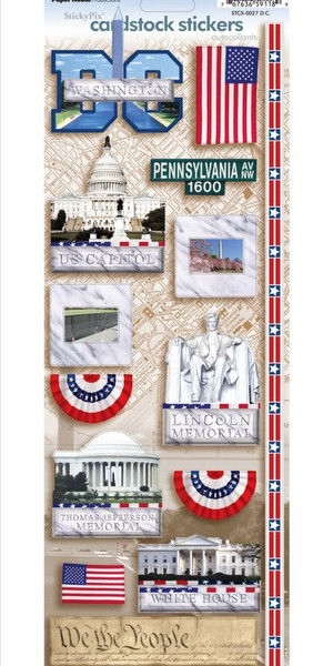 Paper House - D.C. Cardstock Stickers