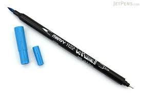 Marvy - Le Plume II Lt. Blue Marker