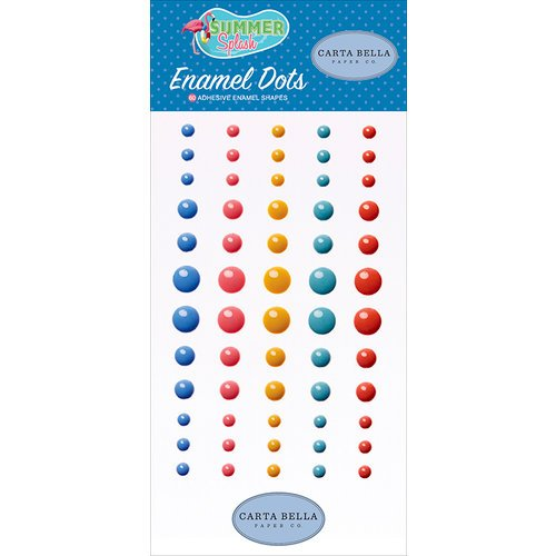 Carta Bella-Summer Splash Enamel Dots