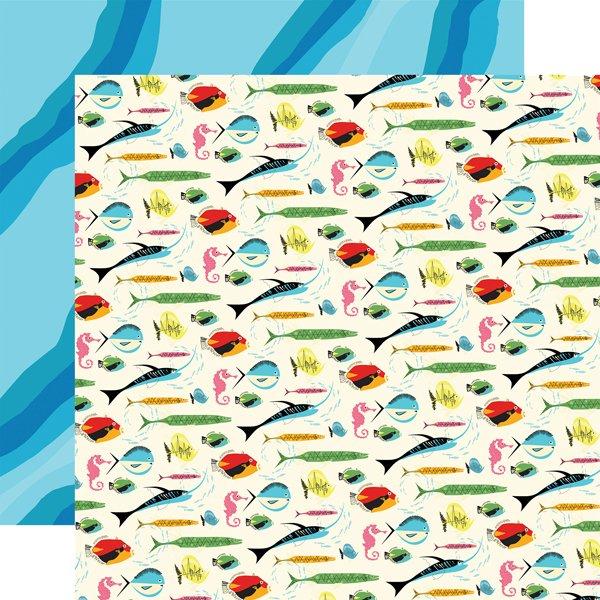 Carta Bella - Summer Splash Gone Fishing 12x12 Paper