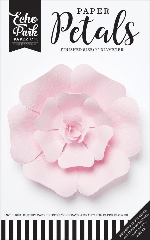 Echo Park - Small Lt. Pink Rose Flower
