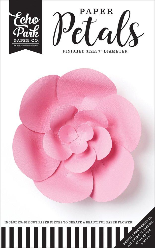 Echo Park - Small Pink Peony Flower
